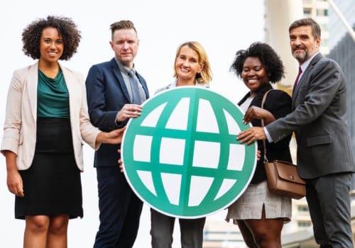 Digitaler Übersetzungsservice Hilft Unternehmen Ihre Tätigkeit International Auszuweiten.