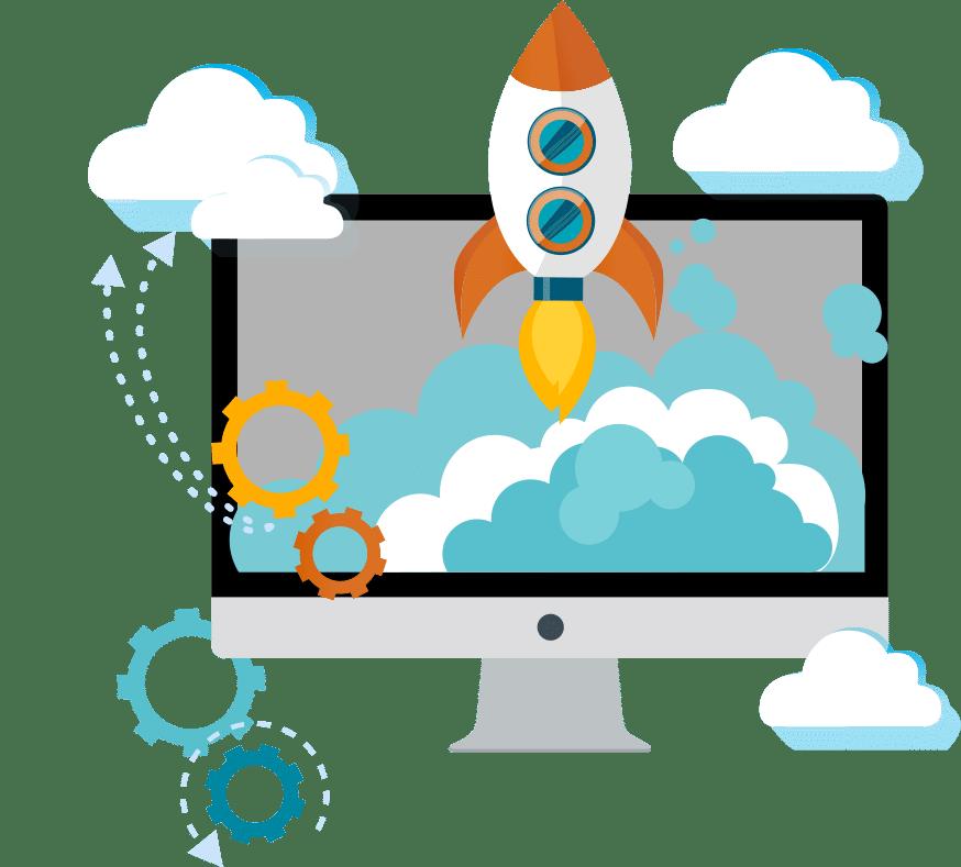 Digitaler Büroservice optimiert Geschäftsprozesse und hilft Unternehmen wie eine Rakete durchzustarten